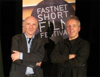 steve woods and david quin at fastnet awards ceremony - june 2010